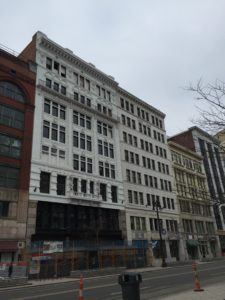 Detroit Michigan building renovations